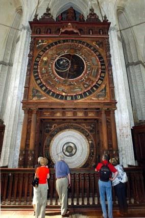 ロストック, 教会, 聖マリエン教会, 天文時計, 北ドイツ, 中世