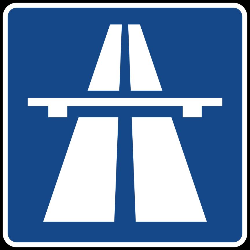ドイツの道路の制限速度