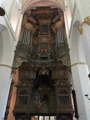 聖マリエン教会パイプオルガン
