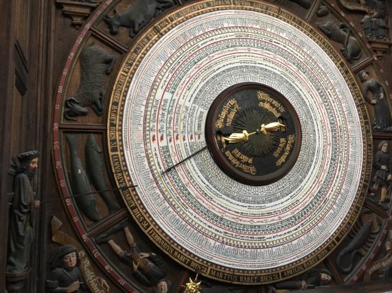 ロストック, 聖マリエン教会, 天文時計